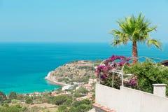 Capo Vaticano, Calabria, Italy. Grotticelle beach Stock Image