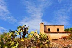 Capo Vaticano Italie photo stock