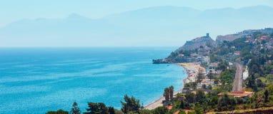 Capo Zafferano, Palerme, Sicile, Italie photographie stock libre de droits