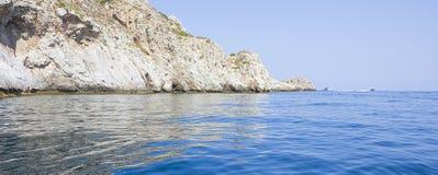 Capo Zafferano. In Santa Flavia, Palermo, Italy Royalty Free Stock Photo