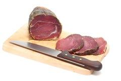 Capocollo Pork Cold Cut Stock Images