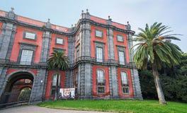 Capodimonte博物馆在那不勒斯,意大利 免版税图库摄影