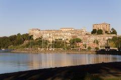 Capodimonte - Bolsena Italië royalty-vrije stock foto