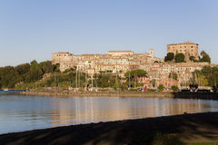 Capodimonte - Bolsena Italien royaltyfri foto