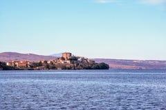 Capodimonte on Bolsena lake Royalty Free Stock Photo