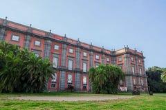 Capodimonte museum i Naples, Italien Royaltyfria Foton