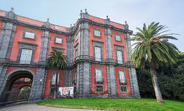 Capodimonte museum i Naples, Italien Royaltyfri Fotografi
