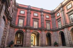 Capodimonte museum i Naples, Italien Arkivbild
