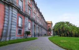 Capodimonte museum i Naples, Italien Arkivbilder