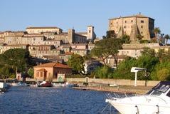 Capodimonte, Viterbo, Italien Lizenzfreie Stockbilder