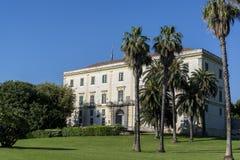 Capodimontepark, Napels, Italië royalty-vrije stock afbeeldingen