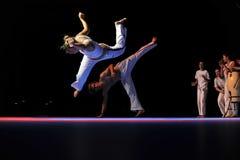 capoeira性能 库存照片