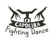 Capoeira战斗舞蹈 库存图片