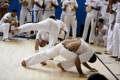 capoeira节日 库存照片