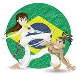 Capoeira Fotografia de Stock