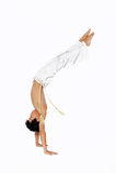 capoeira royaltyfria bilder
