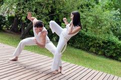 Capoeira 库存图片