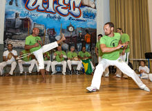 Capoeira Royalty Free Stock Photos
