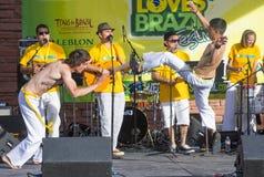 Capoeira Photographie stock