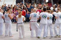 Capoeira stock foto's