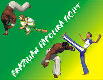 Capoeira Vektor Abbildung