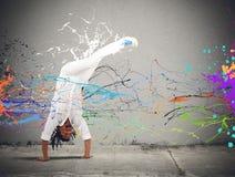 Capoeira royaltyfri bild