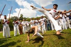 Capoeira 库存照片