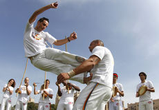 Capoeira 012 Lizenzfreie Stockfotografie