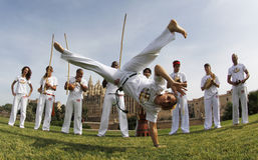 Capoeira 019 Fotografia Royalty Free