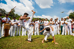 Capoeira arkivbild