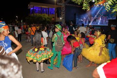 Capoeira dance and martial arts festival in Petrolina Brazil Stock Image
