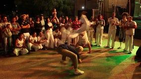 Capoeira dansfestival av Petrolina i Brasilien stock video