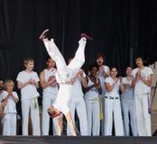 Capoeira Demonstration Stock Image