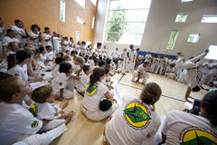Capoeira Festival Royalty Free Stock Image