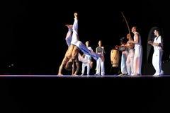 Capoeira Leistung lizenzfreie stockfotografie