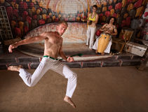 Capoeira Martial Arts and Music Royalty Free Stock Photo