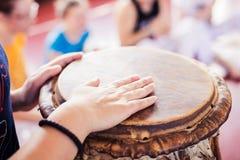 Capoeira musik Arkivbilder