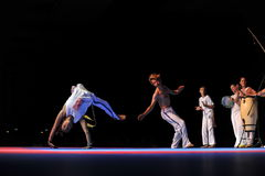 Capoeira Performance Stock Photo