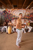 Capoeira Performers Together Stock Images