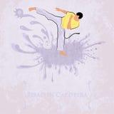 Capoeira Pisao Auch im corel abgehobenen Betrag stock abbildung