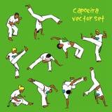 Capoeira set Stock Photo