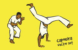 Capoeira set Royalty Free Stock Photos