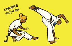 Capoeira set Royalty Free Stock Photography