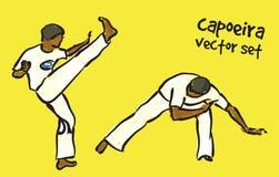 Capoeira set Royalty Free Stock Image
