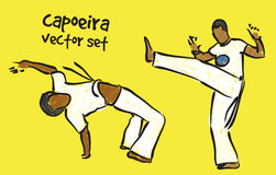 Capoeira set Stock Photos