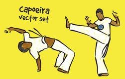 Capoeira set Stock Photos