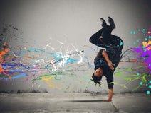 Capoeira-Tanz lizenzfreies stockbild