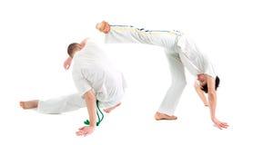 capoeirakontaktsport Royaltyfri Foto