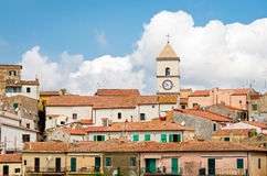 Capoliveri, d'Elba de Isola (Itália) Imagens de Stock Royalty Free