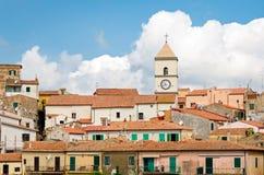 Capoliveri, d'Elba de Isola (Italia) Imágenes de archivo libres de regalías